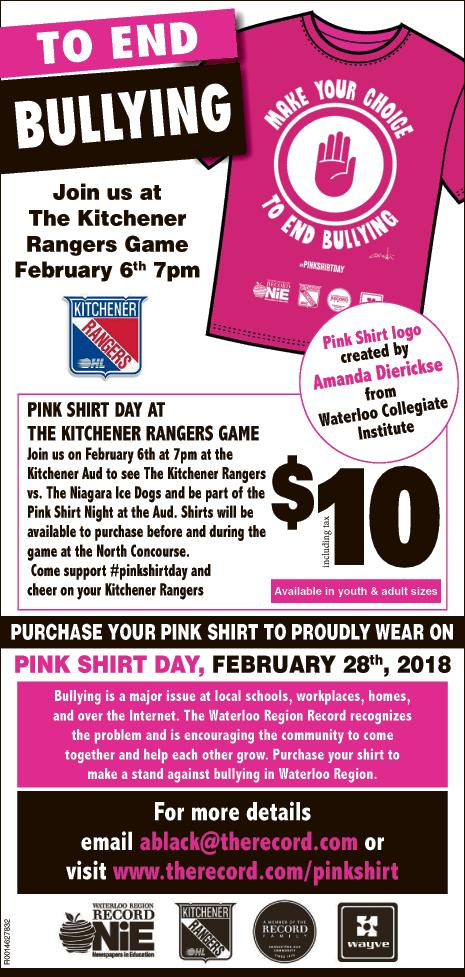 Pink Shirt 2018 Winner ad